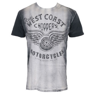 Herren T-Shirt - REAL - West Coast Choppers, West Coast Choppers