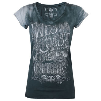 Damen T-Shirt - LOCK UP - West Coast Choppers