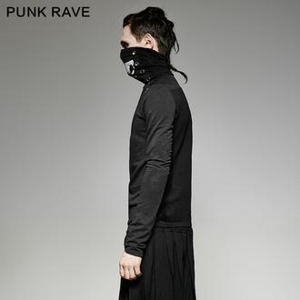 Herren Langarmshirt Gothic und Punk - Monster - PUNK RAVE, PUNK RAVE