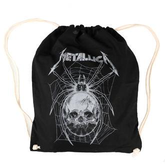 Sportbeutel Metallica - Grey Spider Black, NNM, Metallica