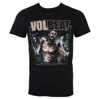 Herren T-Shirt Metal Volbeat - Seal The Deal Cover - ROCK OFF, ROCK OFF, Volbeat
