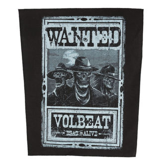 Aufnäher VOLBEAT - WANTED - ROCK OFF, ROCK OFF, Volbeat