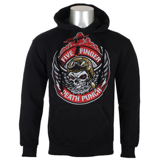 Herren Hoodie Five Finger Death Punch - Black - ROCK OFF, ROCK OFF, Five Finger Death Punch