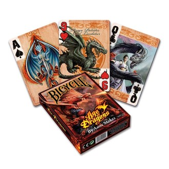 Poker Karten Anne Stokes - Age of Dragons, ANNE STOKES