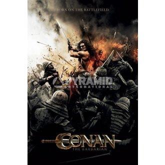 Poster Barbar Conan - Battlefield - BESCHÄDIGT - PYRAMID POSTERS - Unverpackt, PYRAMID POSTERS