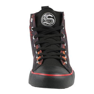 Herren High Top Sneakers - DRAGON FURNACE - SPIRAL, SPIRAL