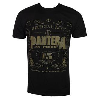 Herren T-Shirt Metal Pantera - BLK 101 - BRAVADO, BRAVADO, Pantera