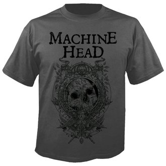 Herren T-Shirt Metal Machine Head - Clock GREY - NUCLEAR BLAST, NUCLEAR BLAST, Machine Head