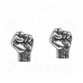 Ohrringe Rage Against The Machine - Fist - ALCHEMY GOTHIC, ALCHEMY GOTHIC, Rage against the machine