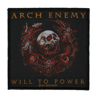 Aufnäher ARCH ENEMY - WILL TO POWER - RAZAMATAZ, RAZAMATAZ, Arch Enemy