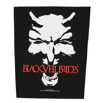 Aufnäher groß BLACK VEIL BRIDES - DEVIL - RAZAMATAZ, RAZAMATAZ, Black Veil Brides