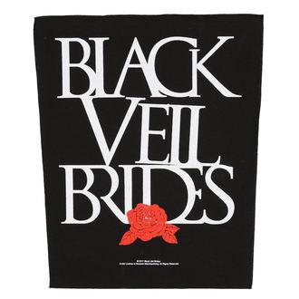 Aufnäher groß BLACK VEIL BRIDES - ROSE - RAZAMATAZ, RAZAMATAZ, Black Veil Brides