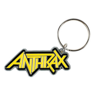 Schlüsselanhänger ANTHRAX - LOGO - RAZAMATAZ, RAZAMATAZ, Anthrax