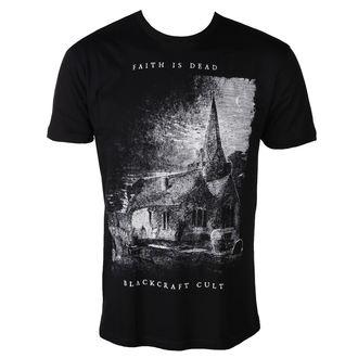 Herren T-Shirt - Faith is Dead - BLACK CRAFT, BLACK CRAFT