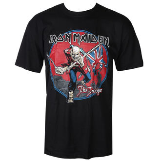 Herren T-Shirt Metal Iron Maiden - Trooper - ROCK OFF, ROCK OFF, Iron Maiden