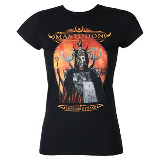 Damen T-Shirt Metal Mastodon - Emperor Of Sand - ROCK OFF, ROCK OFF, Mastodon