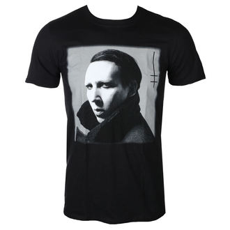 Herren T-Shirt Metal Marilyn Manson - Heaven - ROCK OFF, ROCK OFF, Marilyn Manson