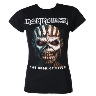 Herren T-Shirt Iron Maiden - Classic Logo - Charcoal - ROCK OFF
