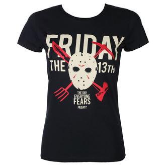 Damen T-Shirt Film Friday 13th - DAY OF FEAR - PLASTIC HEAD, PLASTIC HEAD