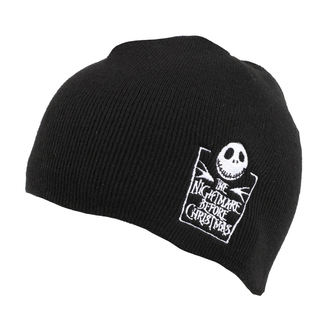 Beanie Mütze THE NIGHTMARE BEFORE CHRISTMAS - LOGO - PLASTIC HEAD, PLASTIC HEAD
