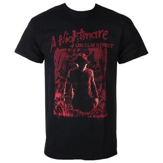 Herren T-Shirt Film A Nightmare on Elm Streett - FREDDY SILHOUETTE - PLASTIC HEAD, PLASTIC HEAD