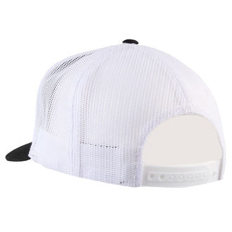 Cap BLACK HEART - JAWA 350 - WEISS, BLACK HEART