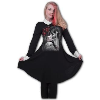 Damen Kleid SPIRAL - DEAD KISS - PeterPan, SPIRAL