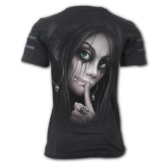 Herren T-Shirt - ZIPPED - SPIRAL, SPIRAL