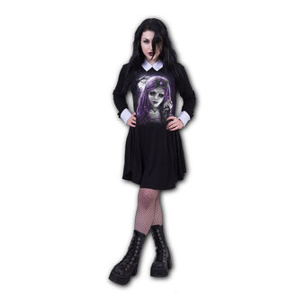 Damen Kleid SPIRAL - GOTH DOLL - PeterPan, SPIRAL