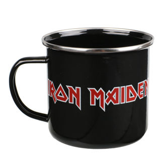Blechtasse Becher Iron Maiden - Logo, Iron Maiden