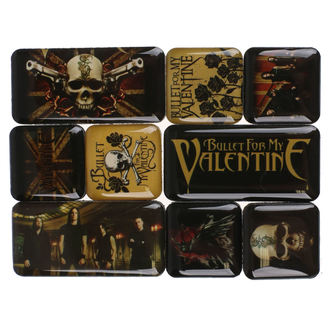Magnet (9er Pack) Bullet For My Valentine, Bullet For my Valentine