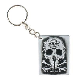 Schlüsselanhänger Metalshop - beidseitig, METALSHOP