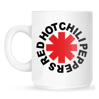 Tasse Red Hot Chili Peppers - Original Logo Astrisk - Weiß, NNM, Red Hot Chili Peppers