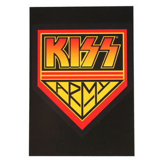 Postkarte KISS - ARMY LOGO - ROCK OFF, ROCK OFF, Kiss