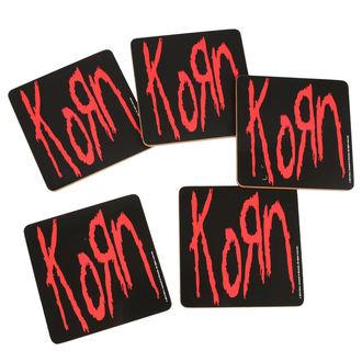 Untersetzer KORN - ROCK OFF, ROCK OFF, Korn