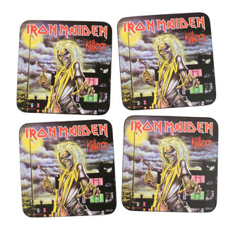 Untersetzer IRON MAIDEN - ROCK OFF, ROCK OFF, Iron Maiden