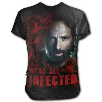Herren T-Shirt Film The Walking Dead - RICK - SPIRAL, SPIRAL