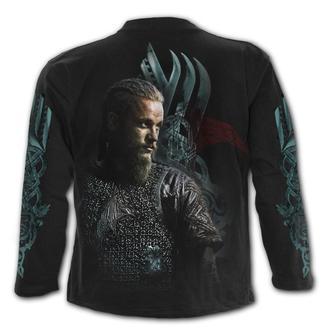 tričko pánské s dlouhým rukávem SPIRAL - Vikingové - RAGNAR FACE, SPIRAL
