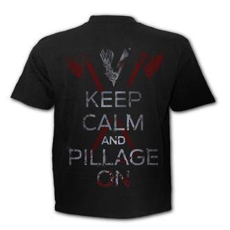 tričko pánské SPIRAL - Vikingové - ROLLO AXE - KEEP CALM, SPIRAL