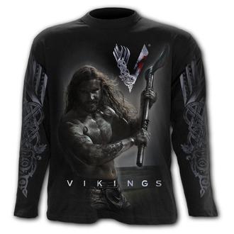 tričko pánské s dlouhým rukávem SPIRAL - Vikingové - ROLLO AXE - KEEP CALM, SPIRAL