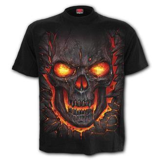 Herren T-Shirt - SKULL LAVA - SPIRAL, SPIRAL