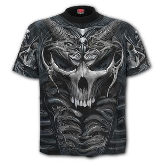 Herren T-Shirt - SKULL ARMOUR - SPIRAL, SPIRAL
