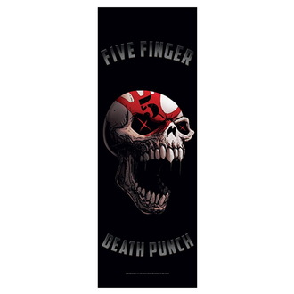 Flagge Five Finger Death Punch - Speech Skull, HEART ROCK, Five Finger Death Punch