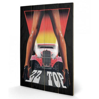 Holzbild ZZ Oben - (&&string0&&) - PYRAMID POSTERS, PYRAMID POSTERS, ZZ-Top