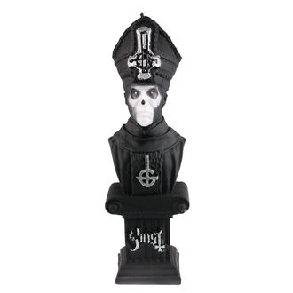 Kerze GHOST - PAPA EMERITUS - SCHWARZ MATT - PLASTIC HEAD, PLASTIC HEAD, Ghost