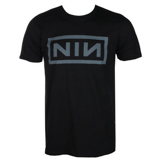 Herren T-Shirt Metal Nine Inch Nails - CLASSIC GREY LOGO - PLASTIC HEAD, PLASTIC HEAD, Nine Inch Nails