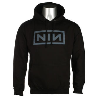 Herren Hoodie Nine Inch Nails - CLASSIC GREY LOGO - PLASTIC HEAD, PLASTIC HEAD, Nine Inch Nails
