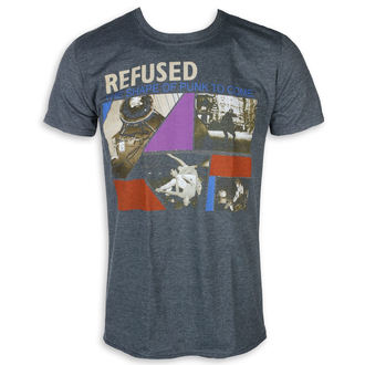 Herren T-Shirt Metal Refused - The Shape Of Punk - KINGS ROAD, KINGS ROAD, Refused