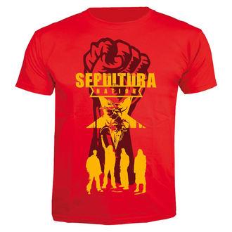 Herren T-Shirt Metal Sepultura - Nation - NUCLEAR BLAST, NUCLEAR BLAST, Sepultura