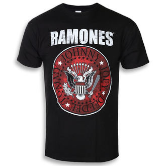 Herren T-Shirt Metal Ramones - Red Fill Seal - ROCK OFF, ROCK OFF, Ramones